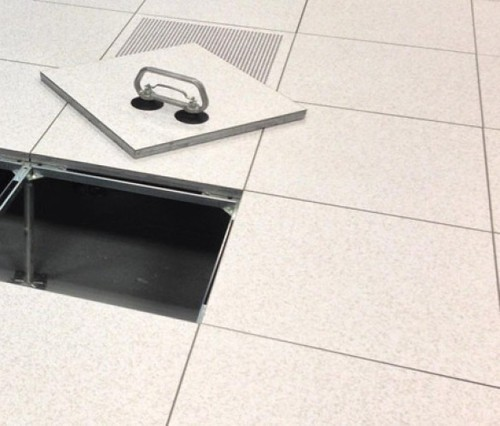 Access Floor System, Size: 600x600mm, for Server Rooms