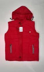 Sleeveless Casual Jackets Winter half jacket for men