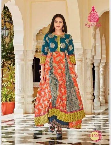 5d0514bc60 Mastani Vol - 1 Kajal Style Kurti, गर्ल्स के लिए ...
