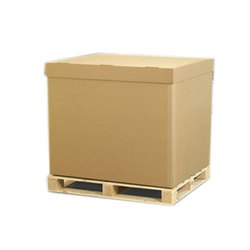 Plain Rectangular Industrial Corrugated Box, Ply: 5 Ply