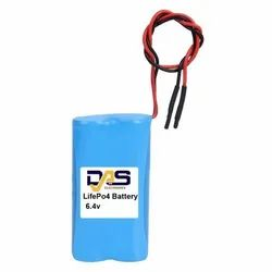 12Ah 6.4V LiFePO4 Battery
