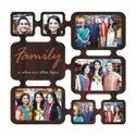 Plastic Wf 28 Family Collage Frame, Size: 11x11 Inches