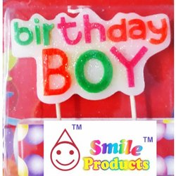 Birthday Boy Candle