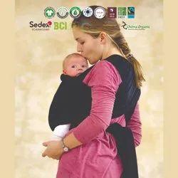 Organic newborn baby carrier