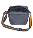 Dark Grey Sling Bag for Men