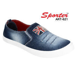 2785813fb632 Mens Leather Shoes · Sporter Men Boys Blue Loafers   Moccasins