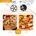 Bicycle Wheel Stainless Steel Pizza Slicer