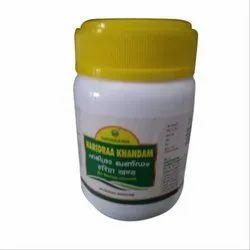 Nagarjuna Haridra Khandam Tablet, Packaging Type: Plastic Jar