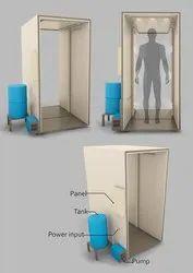 Corona Sanitation And Disinfectant Tunnel