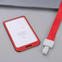Metal Id Card Holder Pack Of 10 Red Color