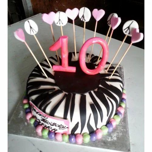 Outstanding International Cakes 10Th Birthday Cake Wholesaler From Bengaluru Funny Birthday Cards Online Inifodamsfinfo