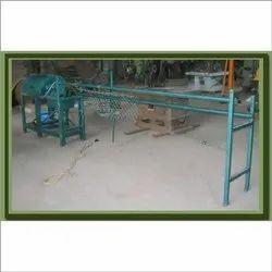 Chain Link Fence Making Machine Semi Auto
