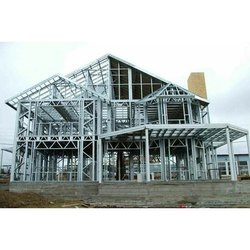 Steel Pre Fab Light Guage Building Structures
