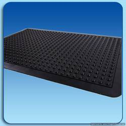 Anti Fatigue Rubber Mats - Bubble Mat Semi Circle design 2 Ft X 3 Ft approx