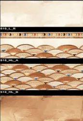 Glossy Series 510 (L-R, HL-A, HL-B) Hexa Ceramic Tiles