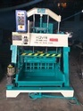 Kovai Mild Steel Laser Cutted Hydraulic Operated Hollow, Solid, Concrete Block Making Machine, 860tv
