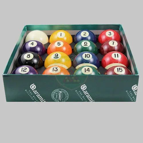 CLUB 147  PRIMER POOL BALL SET