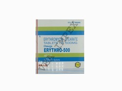 ERYTHRO 500mg Erythromycin Stearate Tablets