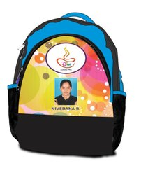 Printed Kids School Bag With Student Photo