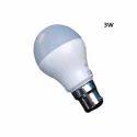 Cool White Ceramic 3w Led Bulb