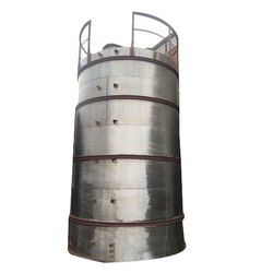 Vertical Stainless Steel Chemical Tank