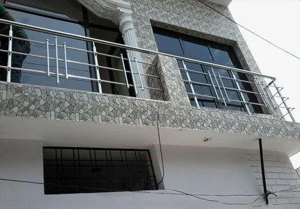 Bar Designer Stainless Steel Balcony Railing Rs 249 Square Feet