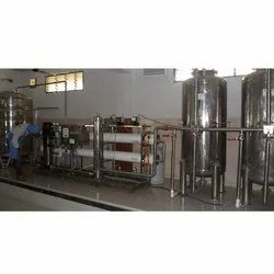 Automatic Mineral Water SS RO Plant