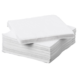 MG Tissue White Paper Napkin, For Home