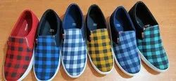 Daily Wear Canvas Shoes, Size: 6-10