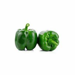 A Grade Green Fresh Bell Pepper, Packaging Type: Carton, Packaging Size: 5 Kg