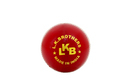 Leather Red County Red Cricket Ball