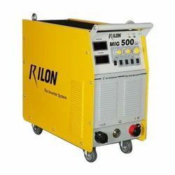 Semi-Automatic Rilon MIG 500 IGBT Welding Machine