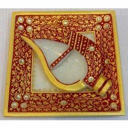 Marble Haldi Kumkum Tray