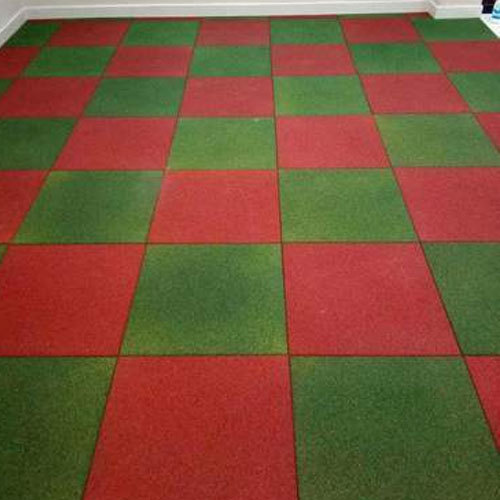 Decorative Rubber Flooring