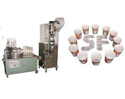 Automatic Paper Tea Cup Making Machine