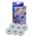 GKI G-STAR ABS Plastic 40 Table Tennis Ball, Pack of 24 (White)