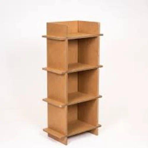 Cardboard Shelf Om Enterprises Manufacturer In Rewari Rewari - Cardboard-bookshelves