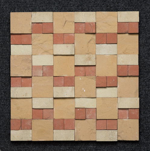 MIx Colour Sandstone 3D Wall Mosaic
