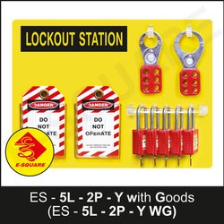 5 Lock Open Lockout Station