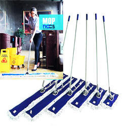 Nacs White Dry Mop, Size: Standard, For Floor Cleaning