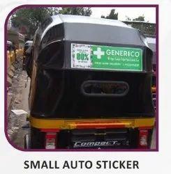 Small Auto Sticker