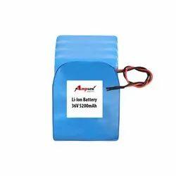 Li-Ion Battery Pack 36V 5200 Mah