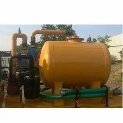 1000 Liter Sewer Suction Machine