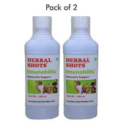 Immunity Support Herbal Syrup - Imunohills Herbal Shots 500 ml