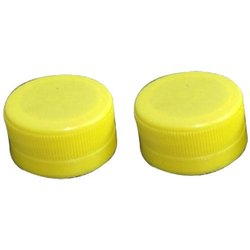 Yellow Plastic Pet Bottle Cap