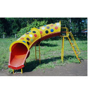 FRP Playground Tube Slide