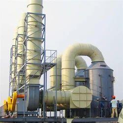 Gas Boiler Wet Scrubber
