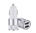 Remax Hi-Power Car Charger with 2 USB Slots For All Mobile And Teblets Multicolour