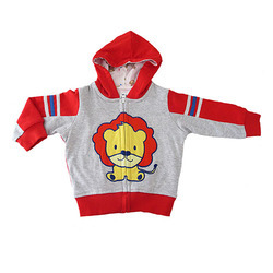 fb8822e1b Red Printed Baby Hooded Jacket at Rs 395  piece