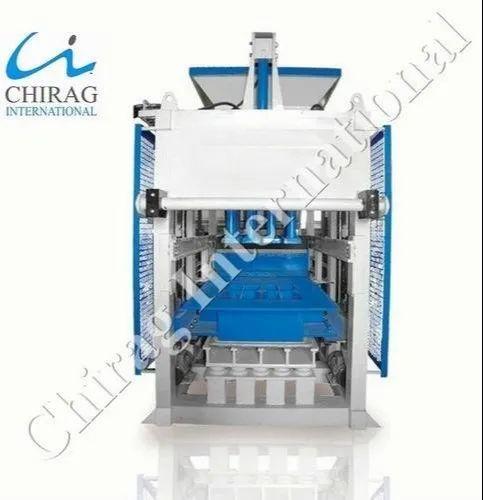 Fully Automatic Concrete Block Machine